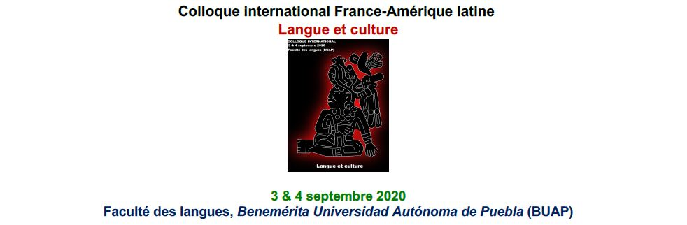 Colloque international France-Amérique latine